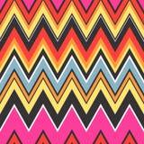 Seamless zigzag textured wallpaper pattern Stock Image