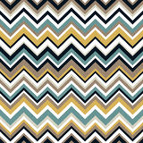 Seamless zigzag textured wallpaper pattern Stock Photography