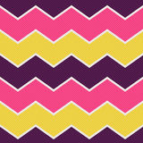 Seamless zigzag textured wallpaper pattern Royalty Free Stock Photo