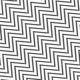 Seamless zigzag wide with long shadow Stock Images