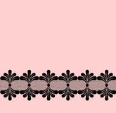 Seamlesslacy border Royalty Free Stock Images