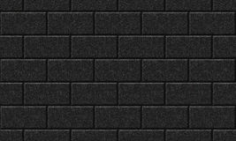 Seamlessly black wall. Stock Photos