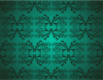 Seamlessly Damask Wallpaper Royalty Free Stock Image