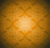 Seamlessly Damask Wallpaper Stock Images