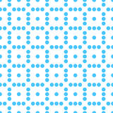 Seamlessly repeatable dotted, polka dot pattern. Pattern with mo. Saic of circles. - Royalty free vector illustration Stock Photography