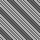 Seamlessly repeatable geometric pattern - Abstract monochrome ba. Ckground, texture - Royalty free vector illustration Royalty Free Stock Images