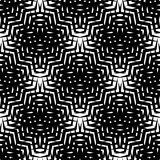 Seamlessly repeatable geometric pattern - Abstract monochrome ba. Ckground, texture - Royalty free vector illustration Royalty Free Stock Photo