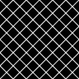 Seamlessly repeatable grid, mesh pattern. Simple lattice, grilla Royalty Free Stock Photo