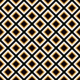 Seamlessly repeatable monochrome square, block geometry pattern. Stock Photo