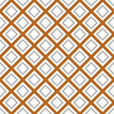 Seamlessly repeatable monochrome square, block geometry pattern. Royalty Free Stock Photos