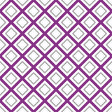 Seamlessly repeatable monochrome square, block geometry pattern. Royalty Free Stock Photo