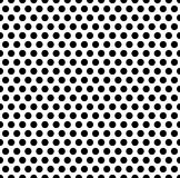 Seamlessly repeatable pattern with dots, circles. Monochrome abs stock illustration