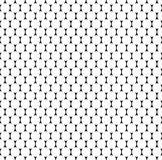 Seamlessly repeatable pattern with dots, circles. Monochrome abs. Tract illustration in speckled, halftone style. Geometric pointillist texture. - Royalty free Stock Photos