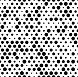 Seamlessly repeatable pattern with random, irregular dots, circl Royalty Free Stock Photos