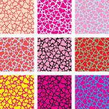 All love pattern Royalty Free Stock Photos