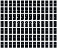 Seamlessly Tileable Domino Pattern Stock Photography