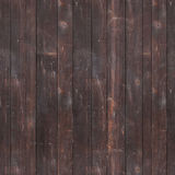 Seamlessly tileable texture of a wooden wall Royalty Free Stock Photo