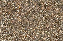 Seamlessly tiling cobbled road texture. Stock Image