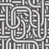 Seamlessly tubing background. Seamlessly tubing background - pattern for continuous replicate Royalty Free Stock Photo
