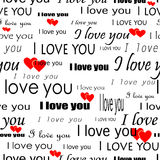 Seamlessly wallpaper valentine Royalty Free Stock Image