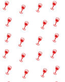 Seamlesss background. With red wine Royalty Free Stock Images