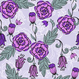Seamlesss Floral pattern Royalty Free Stock Image