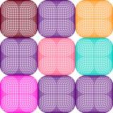 Seamliss geométricos abstratos teste padrão, papel de parede, colorido, colorido Imagens de Stock Royalty Free