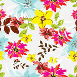 Seamples  Spring Flower illustration Stock Images