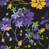 Seamples  Spring Flower illustration Royalty Free Stock Photography
