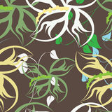 Seamples  Spring Flower illustration Stock Photos
