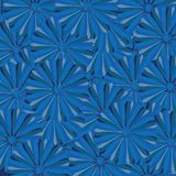 Seampless background with blue motives Royalty Free Stock Photos