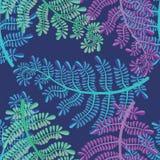 Seampless deixa a ilustração Imagem de Stock Royalty Free