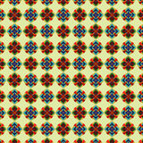 Seampless deseniowi dekoracyjni elementy Fotografia Royalty Free