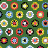 Seamsess flower pattern stock illustration