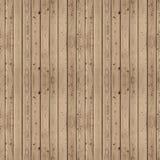 Seamsless木头盘区 免版税库存图片