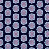 Seamsless σχέδιο διακοσμήσεων, ατελείωτη σύσταση με τα λουλούδια floral Στοκ φωτογραφίες με δικαίωμα ελεύθερης χρήσης