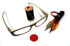 seamstress εργαλεία Στοκ Φωτογραφίες