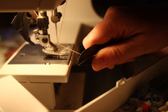 Seamstress Royalty Free Stock Image