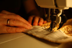 Seamstress Royalty Free Stock Photos