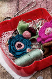 seamstress fotografie stock libere da diritti