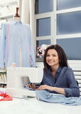 seamstress immagini stock libere da diritti
