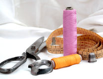 Seamstress accessories Stock Photography