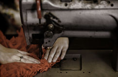Seamstress Stock Photo