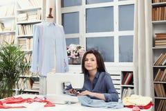 Seamstress Stock Photo
