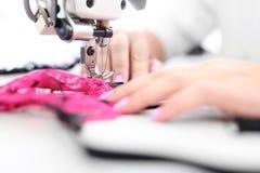 seamstress Macchina per cucire fotografia stock