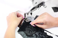 Seamstress. Stock Photo