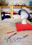 Seamstress shop Stock Photos