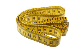 A Seamstress or Tailors Measuring Tape Royalty Free Stock Photography