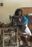 Seamstress waiting Havana Stock Images