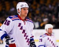 Sean Avery New York Rangers Imagem de Stock